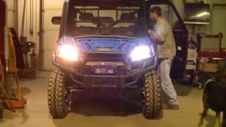 Polaris Ranger 900 JDM Astar 8th Gen H13 LED Headlights Install