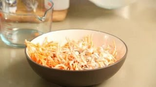 Organic Carrot Raisin Salad : Healthy Snacks