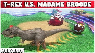 What if We Fight Madame Broode WITH CAPTURES?! | Super Mario Modyssey #19