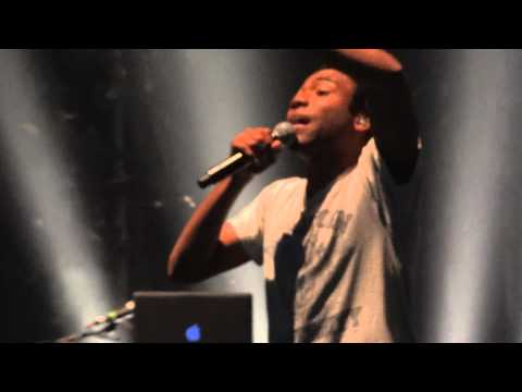 "Childish Gambino - ""Hero"" (Live in Los Angeles 11-12-11)"