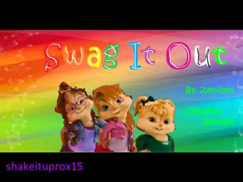 Swag It Out Zendaya Chipette Version   YouTube