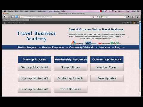 Travel Business Academy- Start a Travel Business