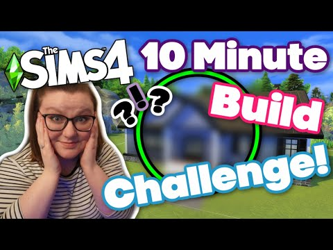 The Sims 4 10 MINUTE BUILD CHALLENGE! It was way harder than expected... |