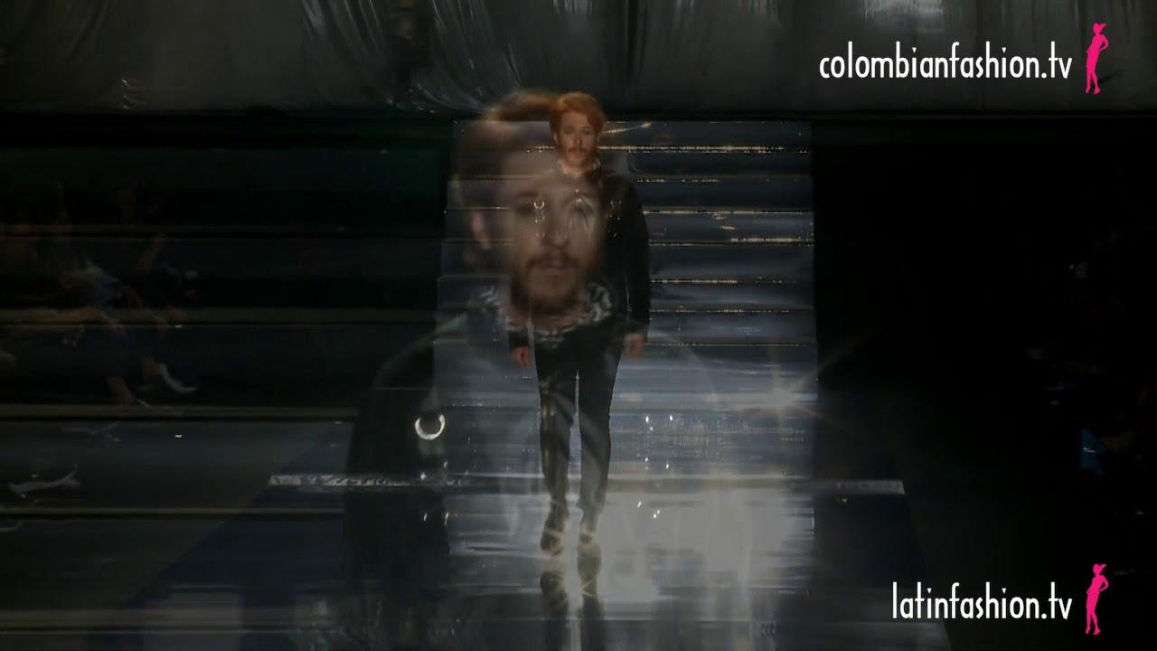 """Pasarela """"Glam"""" de Ricardo Pava en  B Capital, Bogotá 2018"""