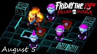 Friday the 13th Killer Puzzle Daily Death August 5 2020 Walkthrough