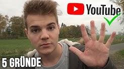 5 Gründe warum Youtube zu 100% NICHT GELÖSCHT wird!