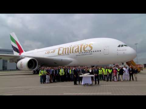 Emirates receives 80th Airbus A380 | Emirates Airline