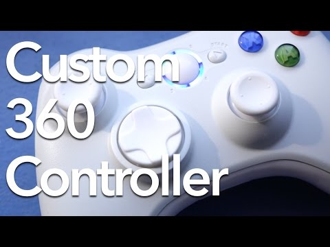Customize Your Xbox 360 Controller!