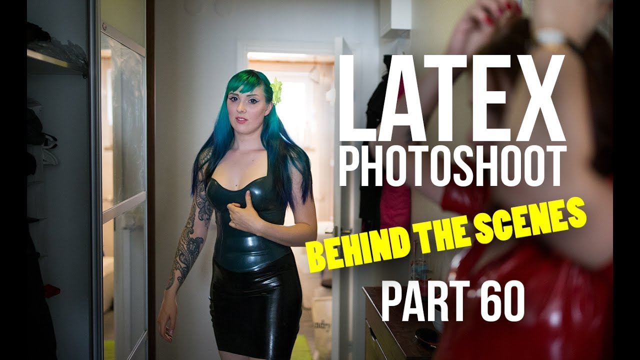 Behind The Scenes Latex Undefinable - Ruby Alexia