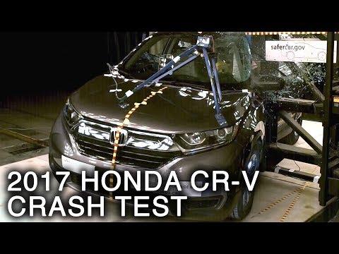 2017 Honda CR-V Pole Crash Test