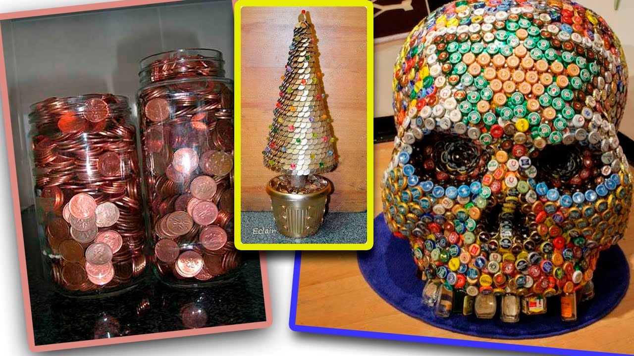 25 Creative Ideas For Home Decorating With Pennies