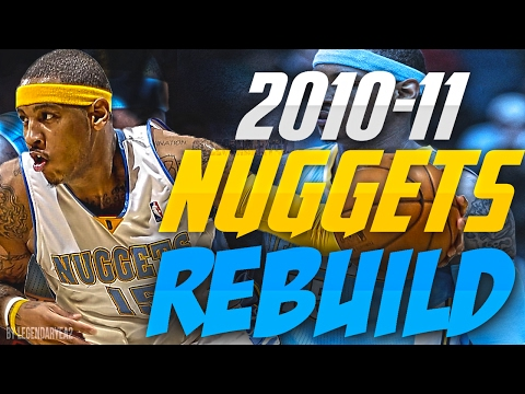 REBUILDING THE '10 - '11 DENVER NUGGETS!! GETTING MELO A RING?!! - NBA 2K17 MYLEAGUE