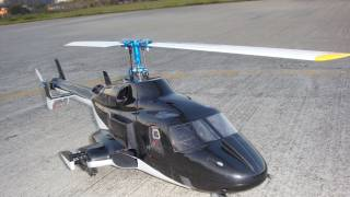 Airwolf by HeliArtist (450 Size) Scale FLYBARLESS