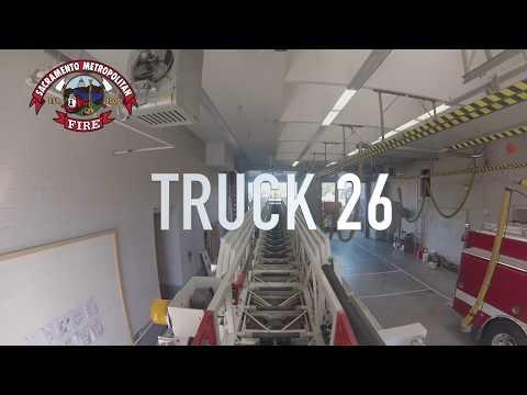 Sacramento Metropolitan Fire Department Truck 26