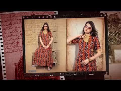 EXOTIC COTTON KURTI ONCE AGAIN BY SURATTEXTILEBAZAAR
