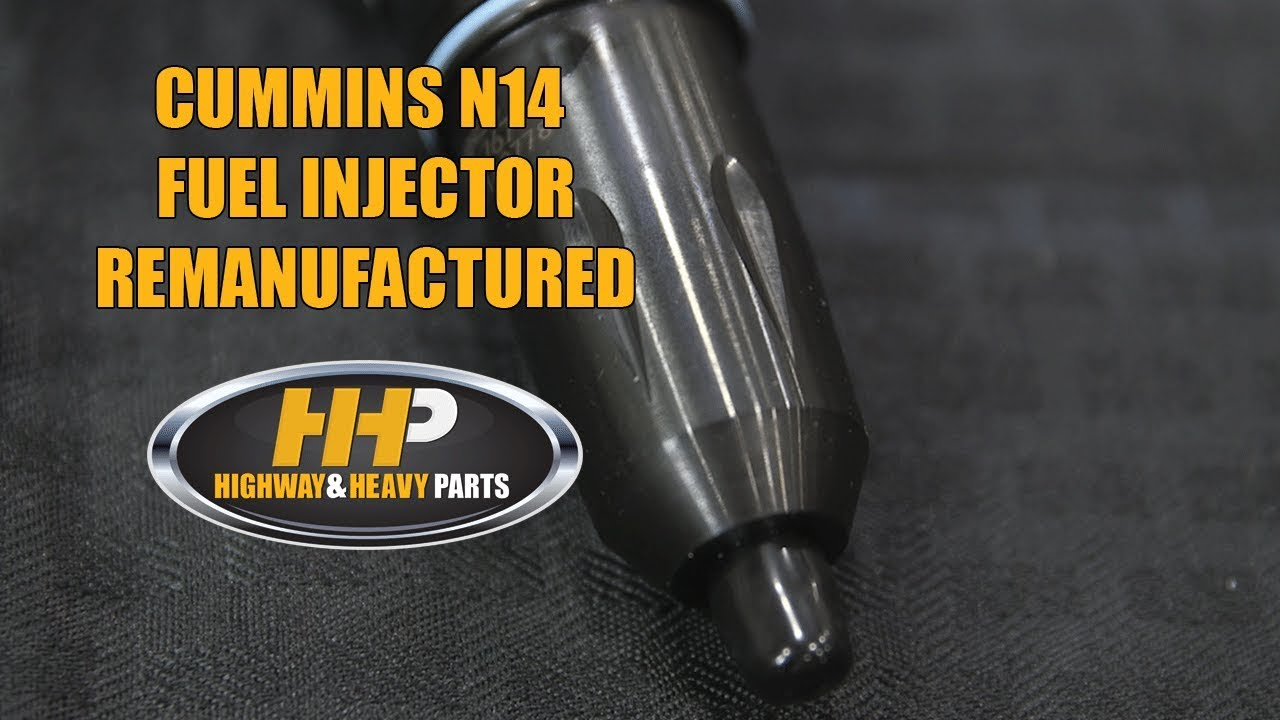 small resolution of 3411767 cummins n14 diesel engine fuel injector highway and heavy parts