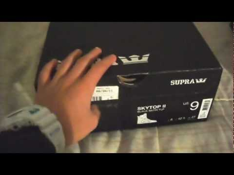 0d83293ef3 Skytop II Black Gold Unboxing and On Feet - YouTube