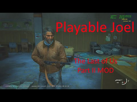 Playing as Joel - The Last of Us Part II Mod [Combat]