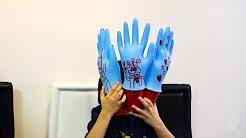 Pop -up Gloves DIY, art & craft, life hack