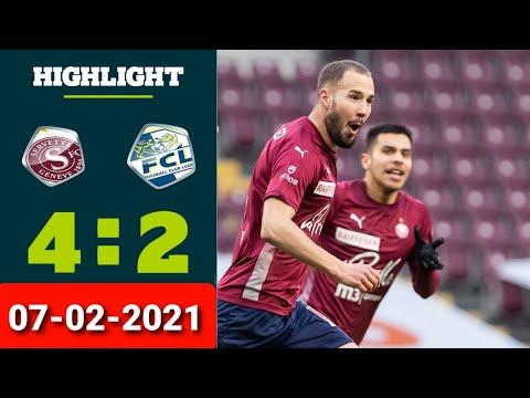 Servette Luzern Goals And Highlights