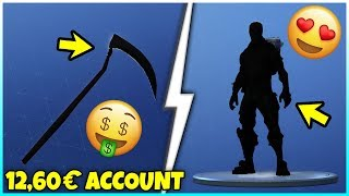 I bought a Fortnite account for 12,60€ with Halloween Skins!