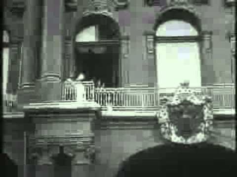 Николай Второй объявляет о начале Первой мировой войны