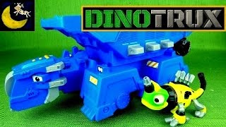 NEW Dinotrux Season 2 Toys! Epic Ton Ton Dump Truck Vehicle PLUS Mega Chompin Ty Rux & Garby