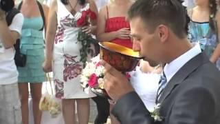 Свадебный обряд в исполнении казаков