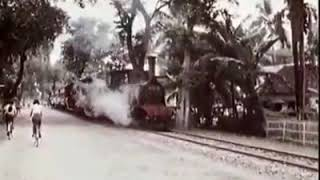 Cover images RAILWAY STATION AT CENTRAL JAVA, INDONESIA OLD VIDEO