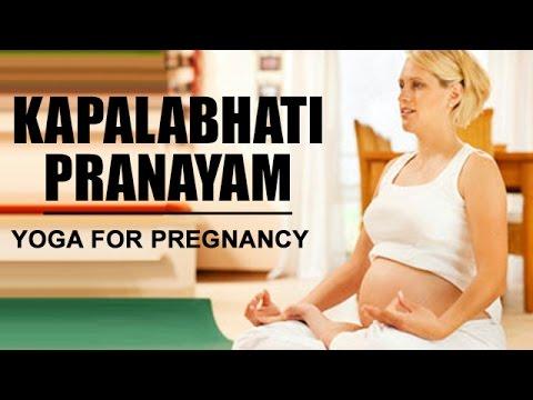 kapalabhati pranayam  yoga for pregnancy  youtube