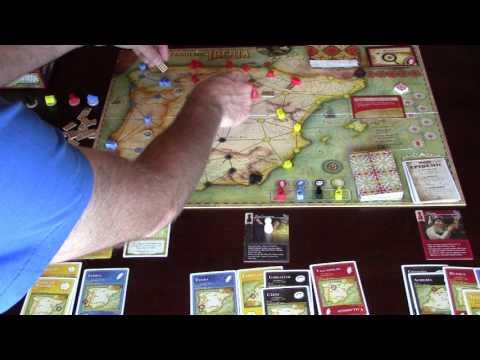 Pandemic Iberia Solo Playthrough