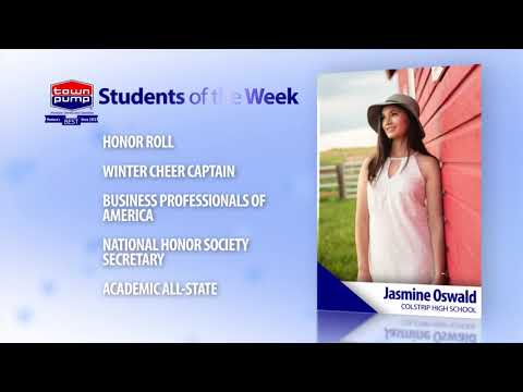Students of the Week: Jasmine Oswald and JT Baer of Colstrip High School