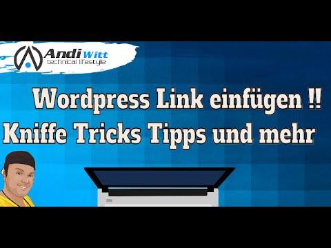 Wordpress Link einfügen - Anfänger Tutorial Deutsch - YouTube