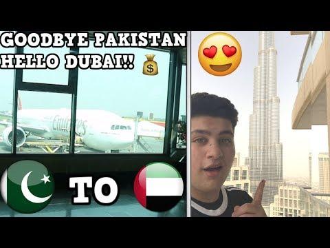 GOODBYE PAKISTAN, HELLO BEAUTIFUL DUBAI !!!  DUBAI VLOG 1