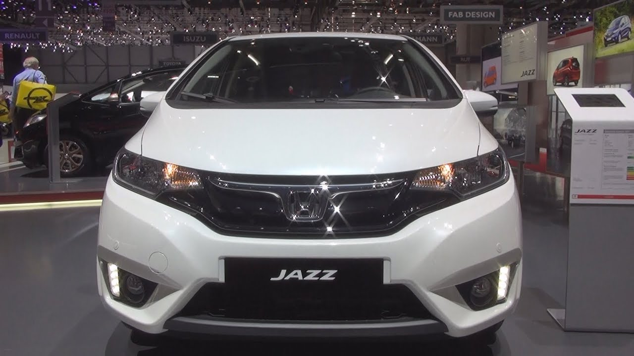 honda jazz 1 3 i vtec cvt elegance 2017 exterior and interior youtube. Black Bedroom Furniture Sets. Home Design Ideas