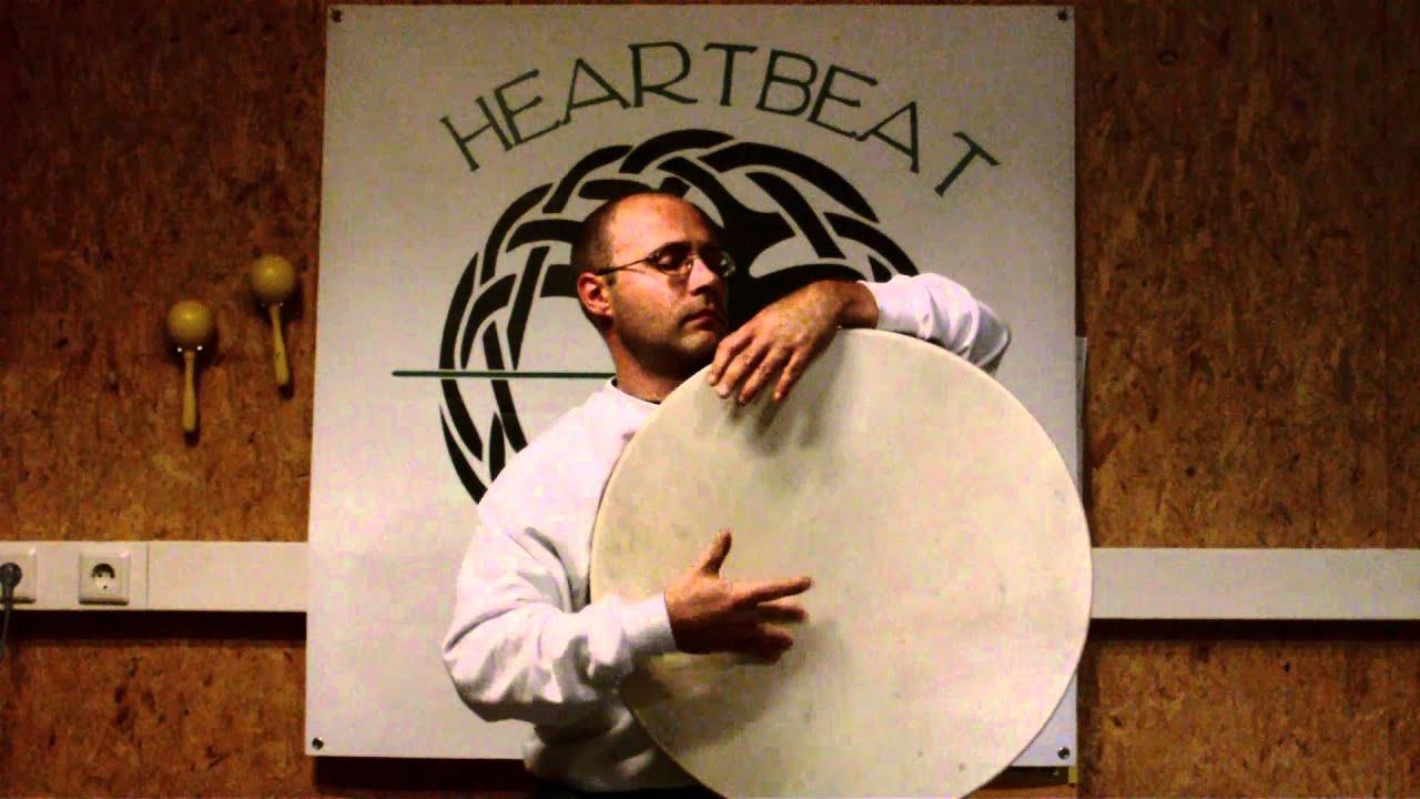 Heartbeat-Drums-Trance-Rhythmen mit der Rahmentrommel - YouTube