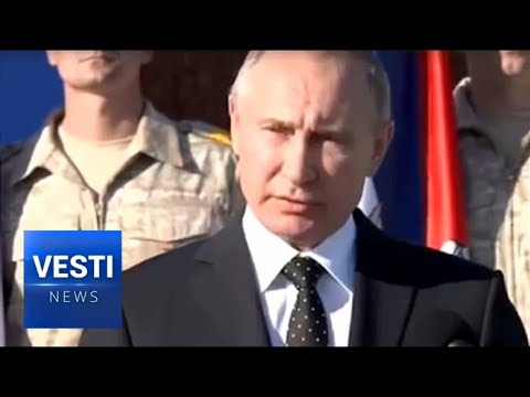 Watch and Listen What President Putin Said to Victorious Russian Soldiers and the World in Hmeimim
