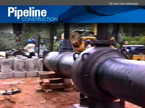 PIPELINE CONSTRUCTION - Sumatra Gas Transmission & Distribution Project (Part 4)