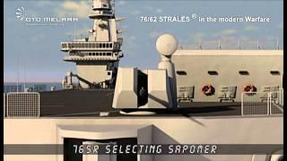 Oto Melara 76mm Strales naval gun system
