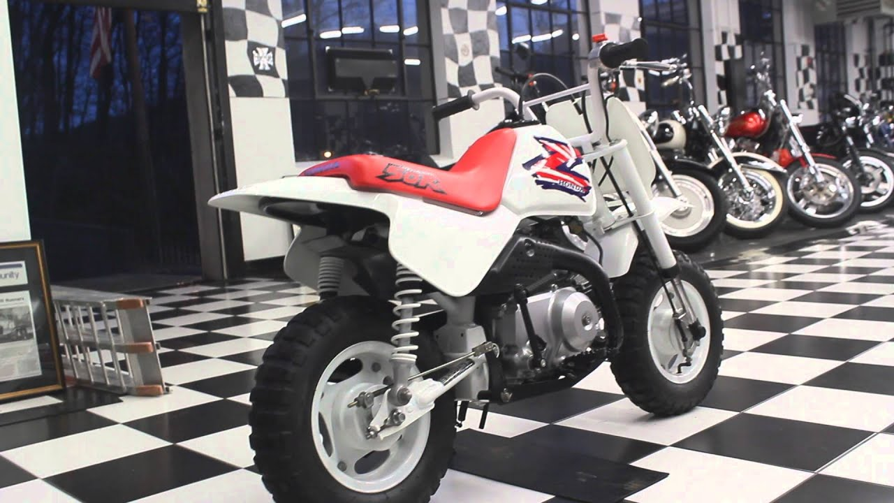 1995 Honda Z50R - YouTube