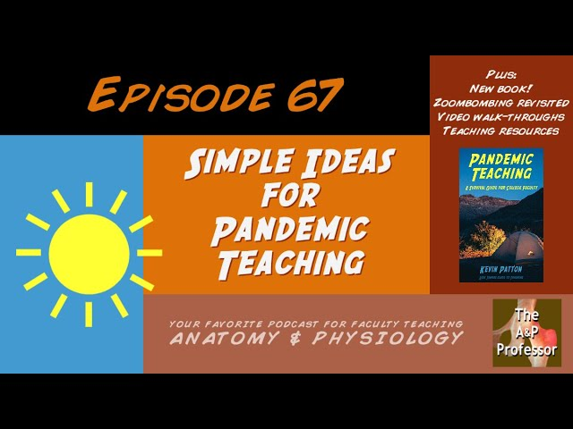 Simple Ideas for Pandemic Teaching | Episode 67