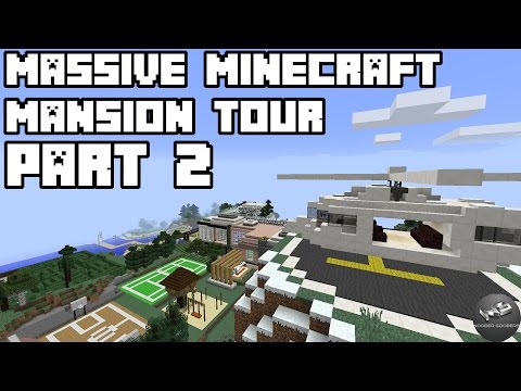 Epic Minecraft Mansion Tour / Part 2