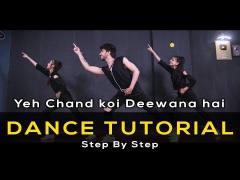 Dance Tutorial - Yeh Chand Koi Deewana Hai | Vicky Patel Choreography | Bollywood Dubstep Song