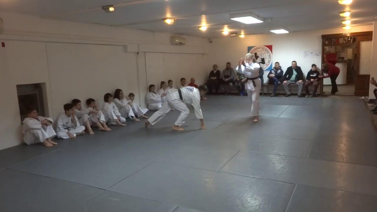 Klub realnog aikidoa i ju-jutsu Novi Sad Polaganje februar