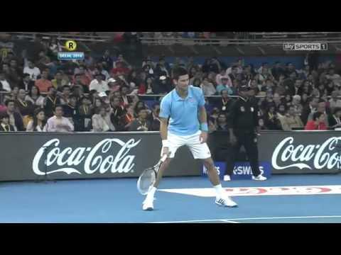 [HD] Novak Djokovic vs Roger Federer FULL MATCH IPTL New Delhi 2015