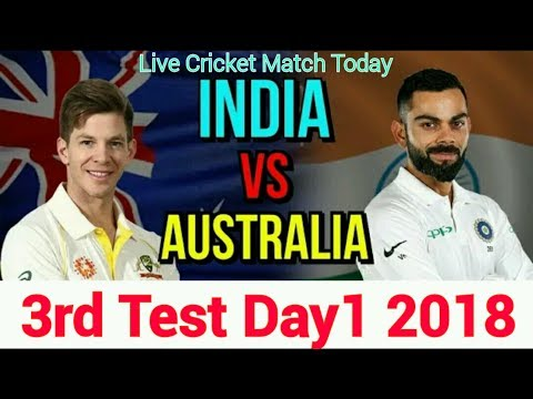 India Vs Australia 3rd Test 2018 | Day 1 | Live #cricket Score & Commentry.... #crictime #IndvsAus