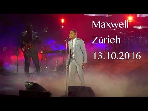 Maxwell Zürich Hallenstadion 13.Oct. 2016