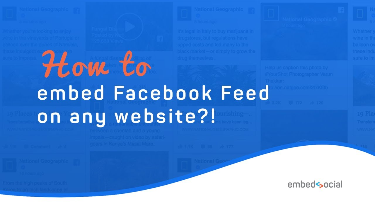 Embed Facebook Feed on Your Website Right Now