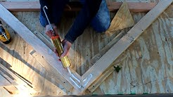 Building Roof truss systems for shed, barn, or a tiny house by Jon Peters