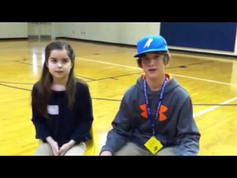 Greer Middle School Assembly with Emma